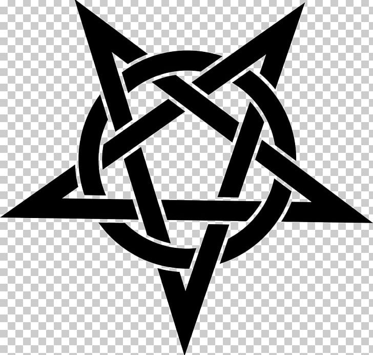 Pentagram Pentacle Symbol PNG, Clipart, Angle, Black And White, Brand, Clip Art, Cross Of Saint Peter Free PNG Download