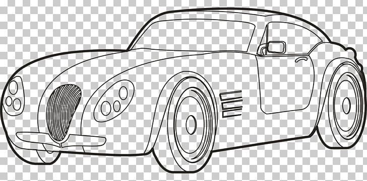Car Coloring Book Transport Drawing Png Clipart