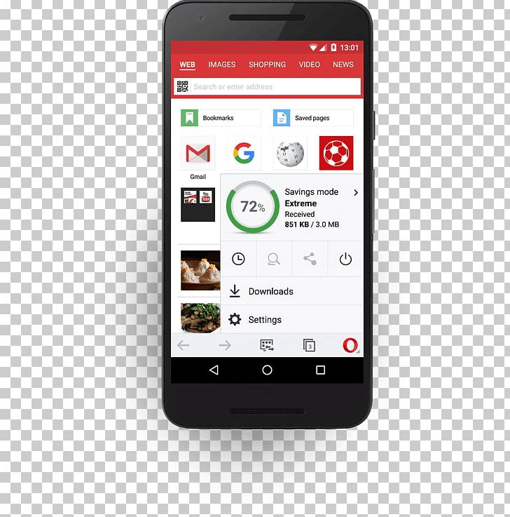 Opera Mini Web Browser Android Opera Software PNG, Clipart