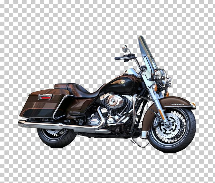 Harley davidson road king. Exhaust system motorcycle