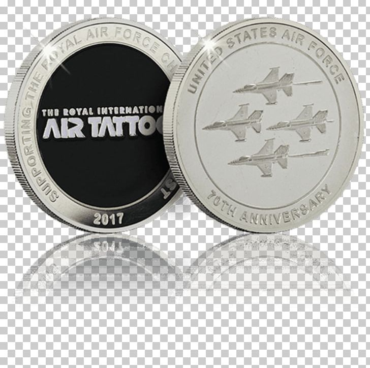Commemorative Coin Silver Royal Air Force World Challenge Coins PNG