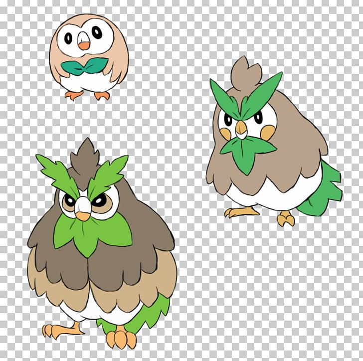 Rowlet Rowlet Pokemon Sun And Moon Evolution Png Clipart Art
