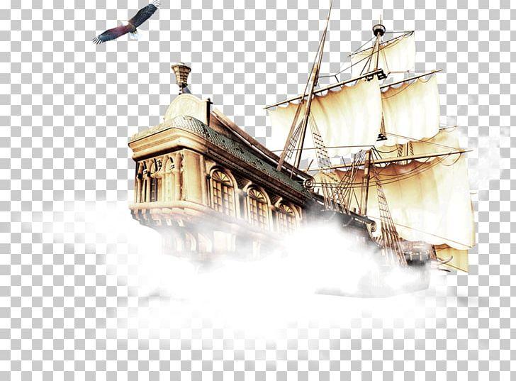 Brigantine Galleon Clipper Caravel PNG, Clipart, Baltimore Clipper, Barque, Brig, Brigantine, Caravel Free PNG Download