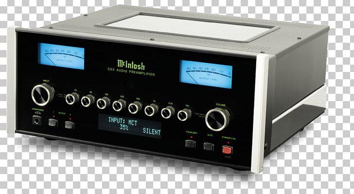 Preamplifier McIntosh Laboratory Audiophile Sound PNG, Clipart, Amplificador, Amplifier, Audio, Audio Power Amplifier, Audio Receiver Free PNG Download