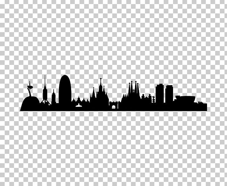 Barcelona Skyline Silhouette PNG, Clipart, Animals, Barcelona, Barcelona Skyline, Black And White, City Free PNG Download