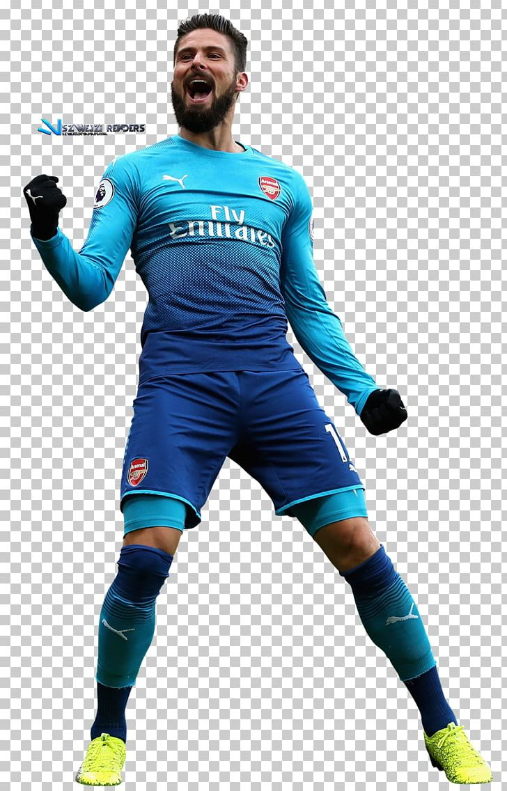 newest adcf4 4d446 Olivier Giroud Arsenal F.C. Jersey Football Player Sport PNG ...