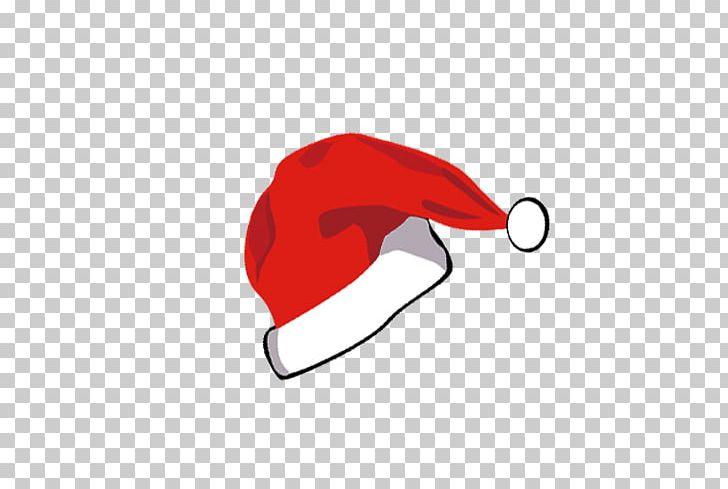 Santa Claus Hat Christmas Cartoon Drawing Png Clipart