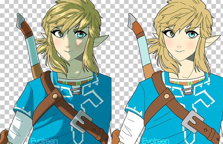 The Legend Of Zelda Breath Of The Wild Drawing Fan Art Link