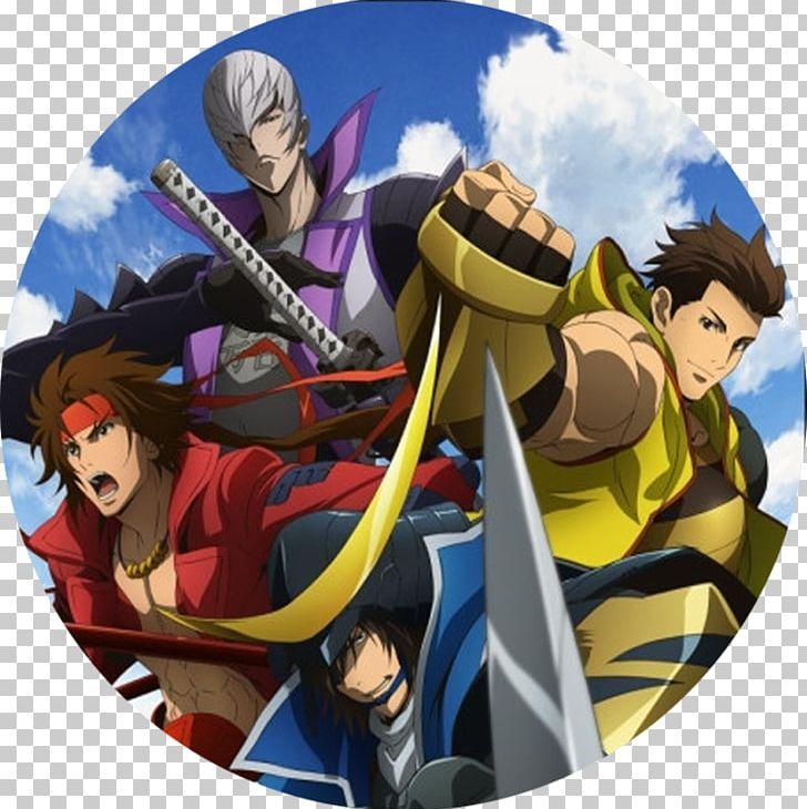 Sengoku Basara: Samurai Heroes Sengoku Period Anime