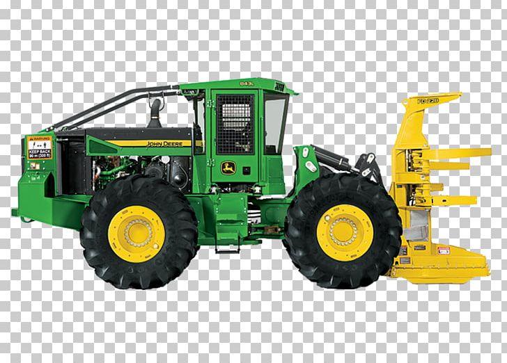 John Deere Feller Buncher Tractor Forestry Heavy Machinery