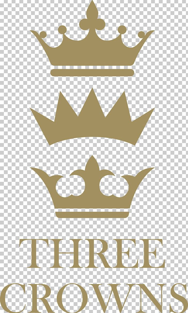 Logo Three Crowns Hotel Guest House Harnham PNG, Clipart, Artwork, Boutique, Brand, Crown, Guest Free PNG Download