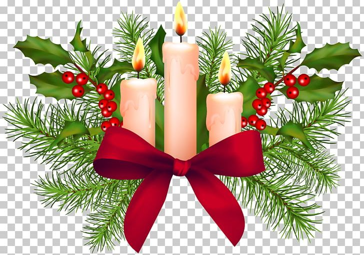 Christmas Christmas Day Open Candle PNG