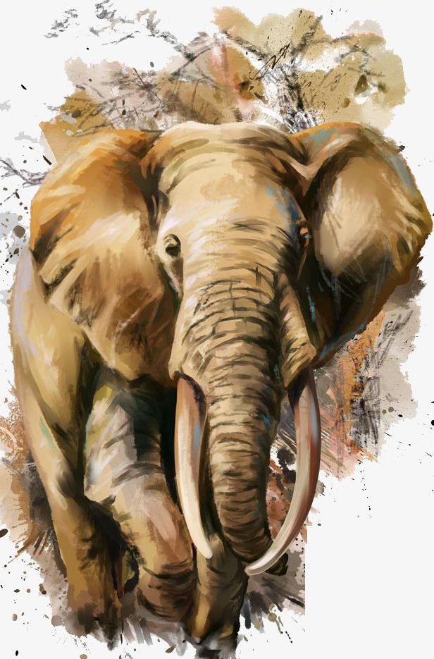 Watercolor Elephant Png Clipart Animal Animals And Pets Animals In The Wild Backgrounds Brown Free Png Flowers watercolor painting printmaking elephant, watercolor elephant, watercolor leaves, ink, painted png. watercolor elephant png clipart
