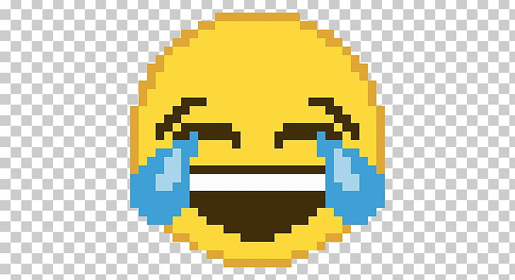 Minecraft Pixel Art Face With Tears Of Joy Emoji Png