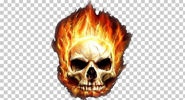 Desktop Garena Free Fire Skull Flame Png Clipart 1080p
