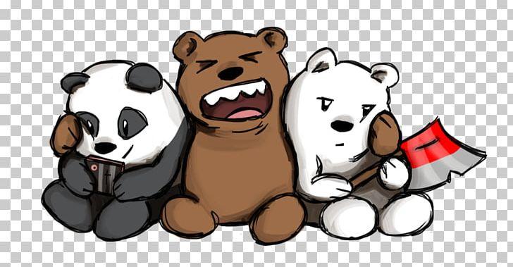 Polar Bear Giant Panda Drawing We Bare Bears Png Clipart