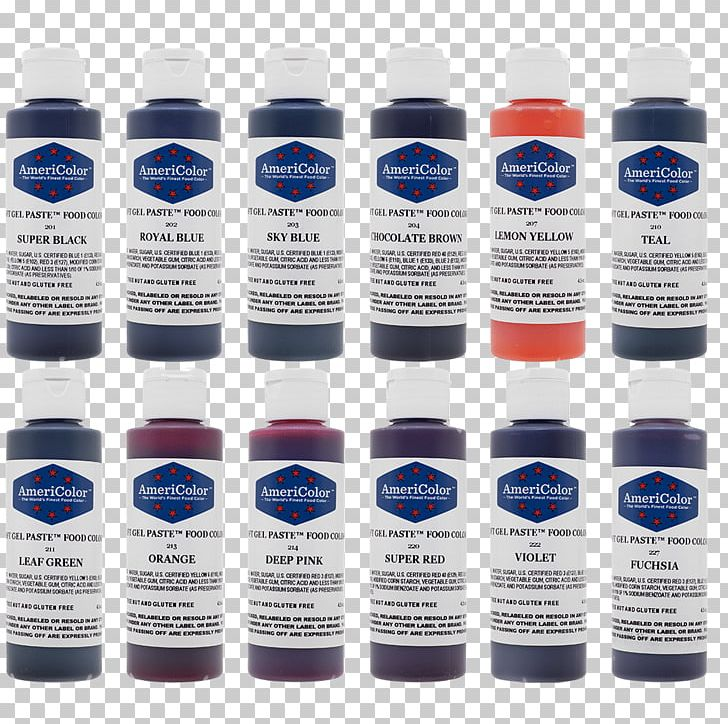 Frosting & Icing Food Coloring Paste AmeriColor Corp. PNG ...