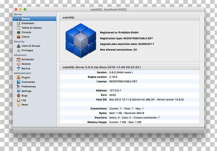 Computer Program SQLite Manager Database Management System PNG