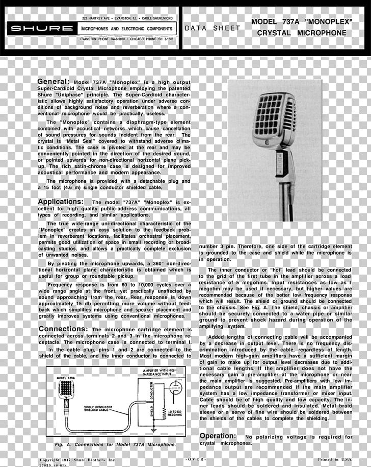 Microphone Wiring Diagram Shure 577B PNG, Clipart, Audio ... on
