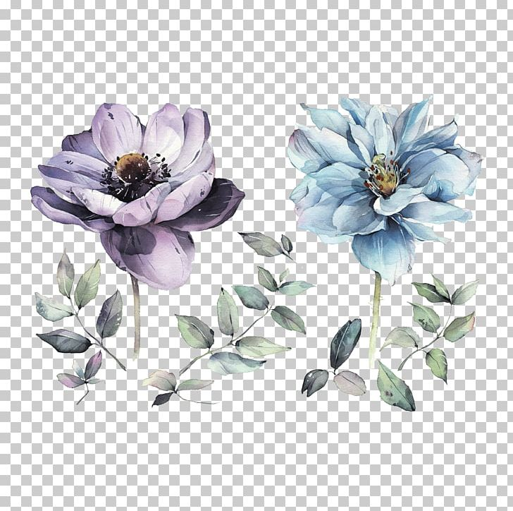 Watercolour Flowers Watercolor: Flowers Watercolor Painting Drawing PNG, Clipart, Anemone, Art, Artist, Blue, Cut Flowers Free PNG Download