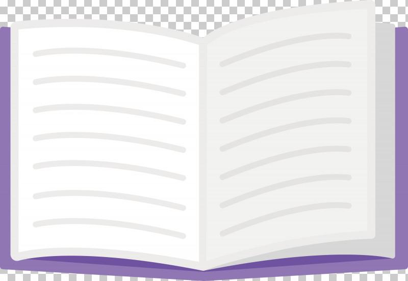 Open Book School Supplies PNG, Clipart, Open Book, Paper Product, Purple, School Supplies Free PNG Download