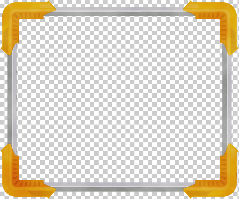 Yellow Rectangle PNG, Clipart, Corner Frame, Paint, Rectangle, Watercolor, Wet Ink Free PNG Download