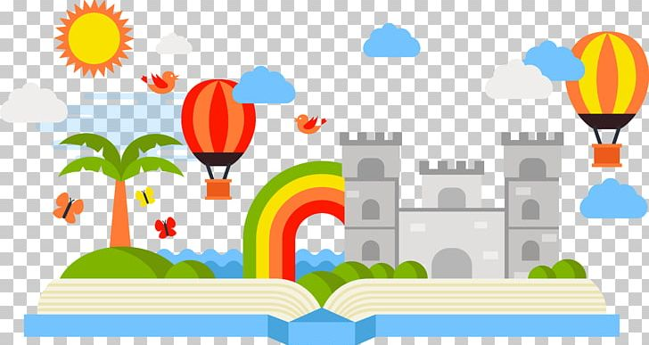 Fairy tail illustration. Book storytelling tale png