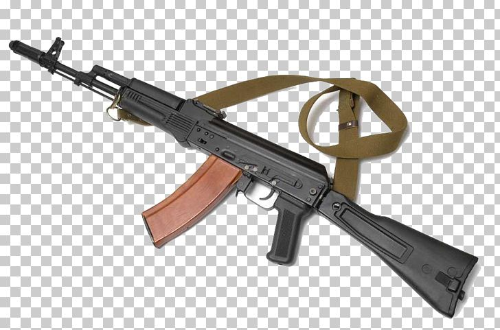 AK-74 AK-47 Assault Rifle Saiga Semi-automatic Rifle PNG