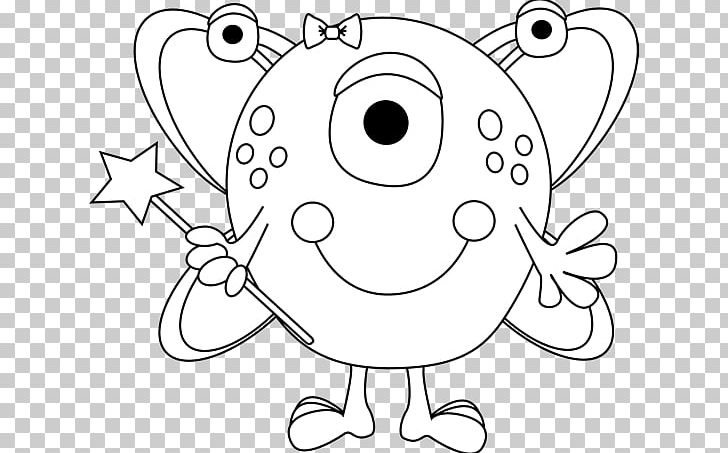 Black And White Monster Drawing Png Clipart Area Art Artwork Black Black And White Free Png