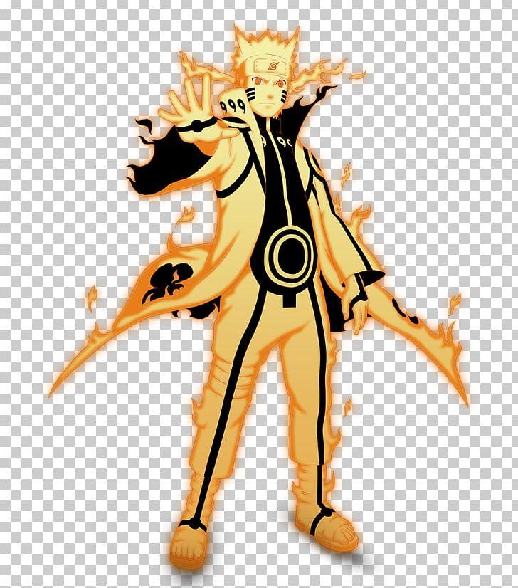 Naruto Uzumaki Nine Tailed Fox Kurama Tailed Beasts Png Clipart Art Cartoon Character Drawing Fictional Character