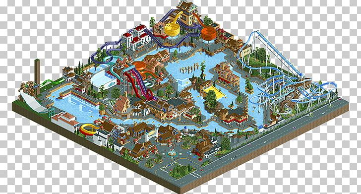 RollerCoaster Tycoon 2 Amusement Park Calypso Park Walt