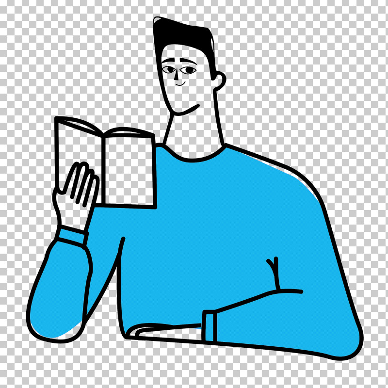 Reading Book PNG, Clipart, Business, Digital Marketing, Line Art, Male, Marketing Free PNG Download