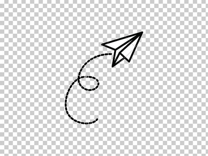 Airplane Paper Plane Drawing PNG, Clipart, Airplane, Angle, Area, Black, Black And White Free PNG Download