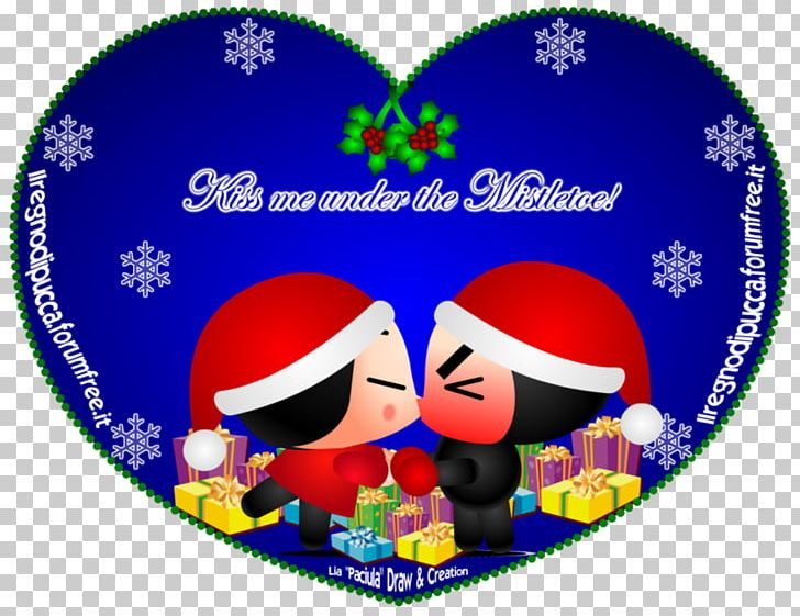 Christmas Love Ninja Fan Art Mistletoe Png Clipart Cartoon Christmas Christmas Ornament Deviantart Drawing Free Png