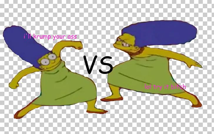 Marge Simpson Know Your Meme Krumping Simpson Family PNG