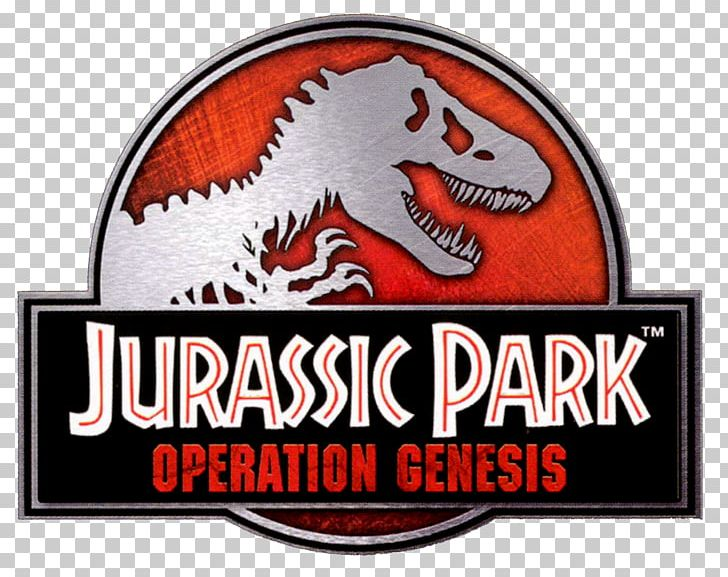 Jurassic Park: Operation Genesis Jurassic Park: The Game YouTube Video Game PNG, Clipart, Brand, Dinosaur, Emblem, Game, Jurassic Park Free PNG Download