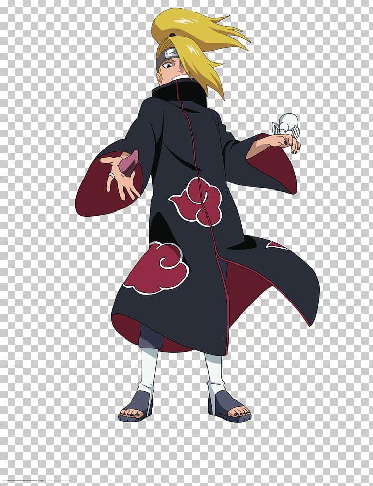 Deidara Pain Itachi Uchiha Naruto Uzumaki Kisame Hoshigaki Png Clipart Akatsuki Anime Art Cartoon Character Free