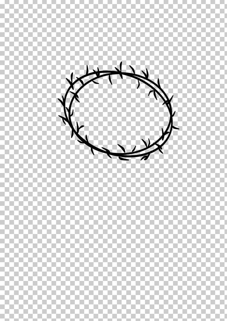 Crown Of Thorns Thorns PNG, Clipart, Angle, Area, Black And White, Body Jewelry, Circle Free PNG Download