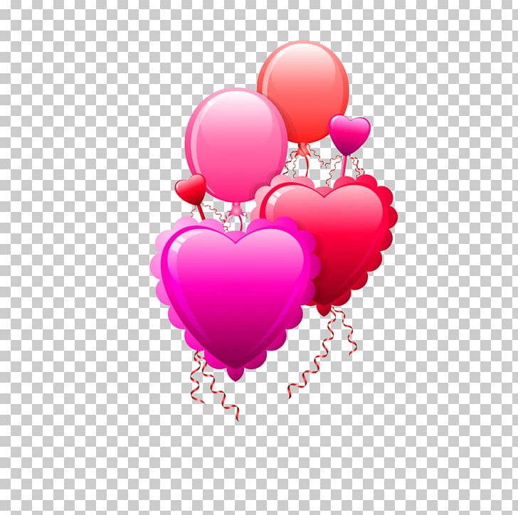 Valentine S Day Heart Happy Valentine Png Clipart Air Balloon Animation Balloon Clip Art Cupid Free Png