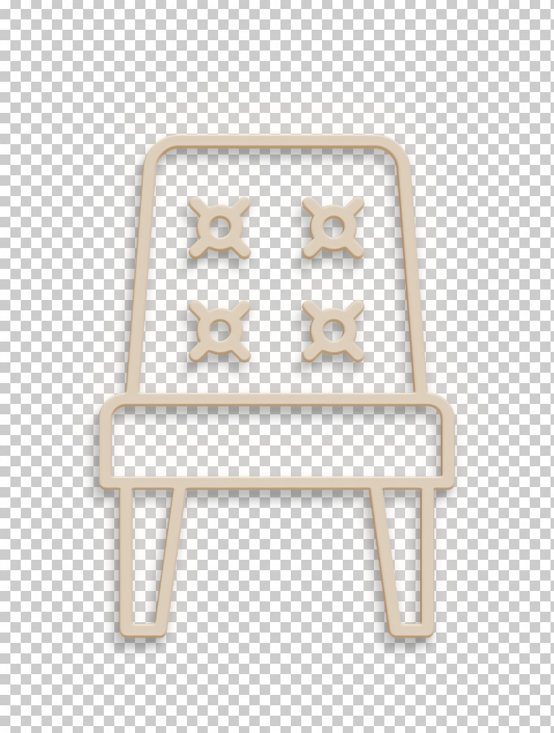Chair Icon Seat Icon Interiors Icon PNG, Clipart, Beige, Chair, Chair Icon, Furniture, Interiors Icon Free PNG Download