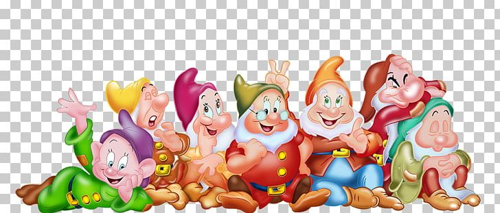 Seven Dwarfs Snow White Magic Mirror Png Clipart Cartoon