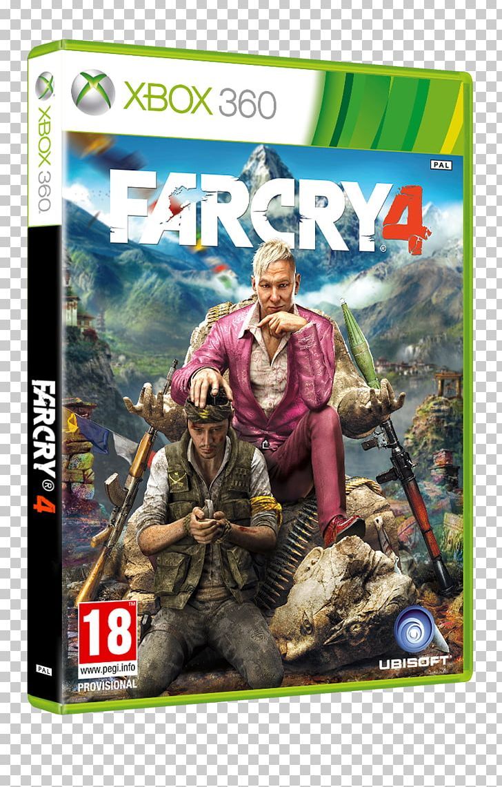 Far Cry 4 Xbox 360 Watch Dogs Video Game Png Clipart Cry Far Far Cry Far