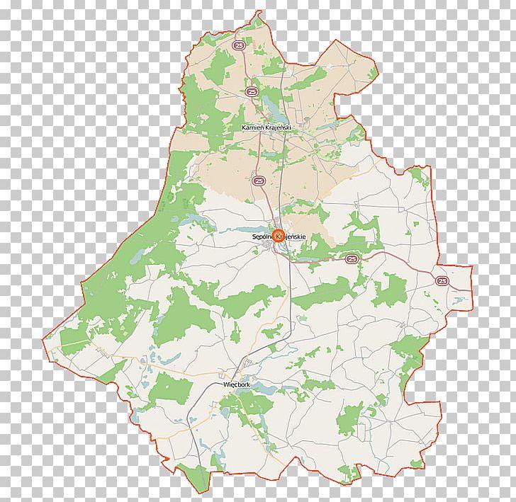 Sępólno Krajeńskie Map Wikiwand Wikipedia Powiat PNG