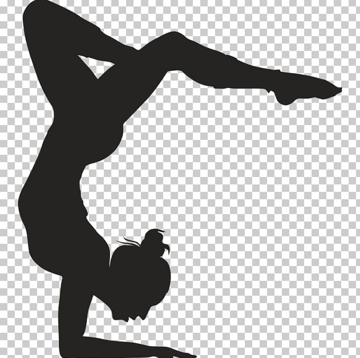 Artistic Gymnastics Wall Decal Sticker PNG, Clipart, Arm, Black, Gymnastics, Hand, Monochrome Free PNG Download