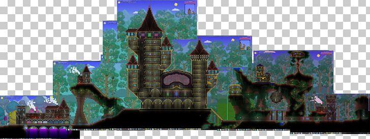 Minecraft Terraria Castle PNG, Clipart, Art, Castle, City