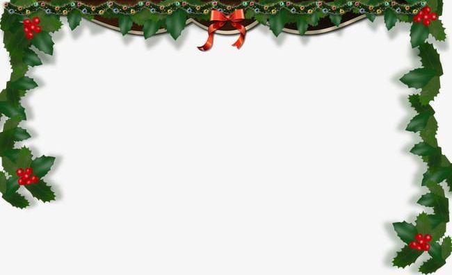 Christmas Border Clipart Png.Christmas Frame Border Png Clipart Background Border