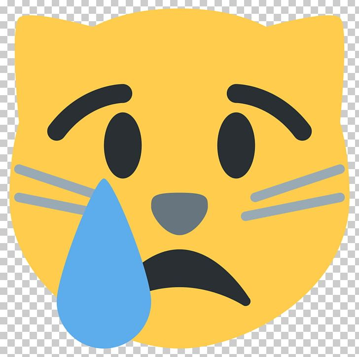 Cat Kitten Face With Tears Of Joy Emoji Crying PNG, Clipart, Animals, Cat, Computer Icons, Crying, Crying Emoji Free PNG Download