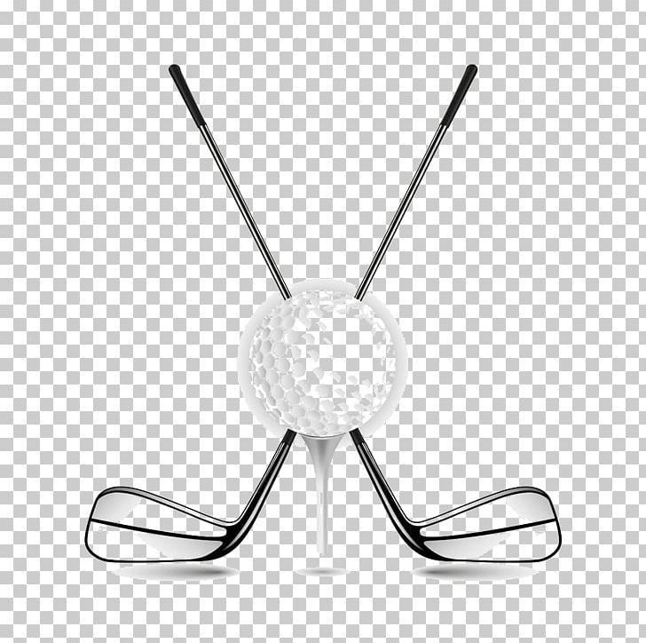 Golf Ball Golf Club Png Clipart Ball Black And White Cartoon Construction Equipment Cue Free Png