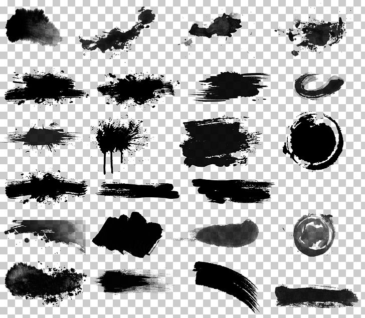 Ink Brush Drawing Inker PNG, Clipart, Black, Black And White, Brush, Brush Stroke, Chinese Free PNG Download