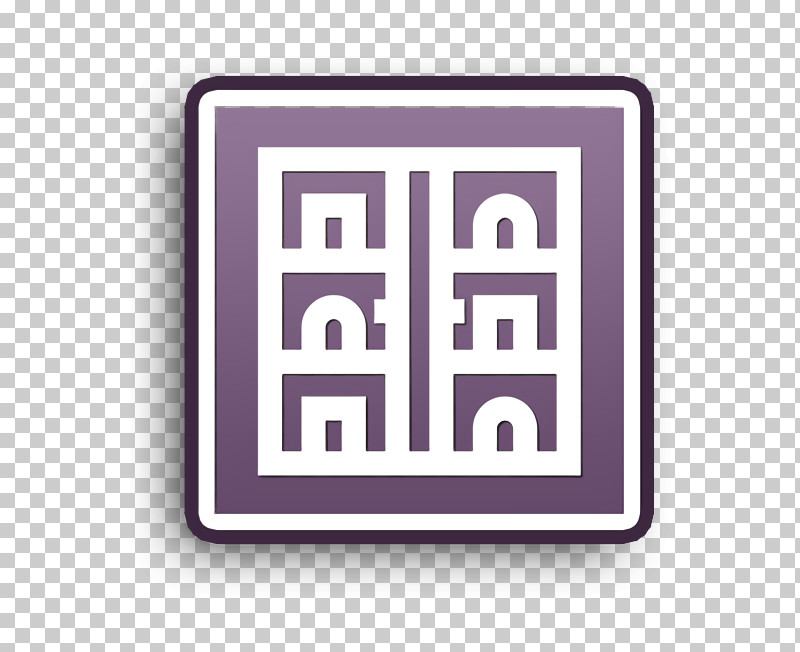 Home Decoration Icon Furniture And Household Icon Showcase Icon PNG, Clipart, Furniture And Household Icon, Home Decoration Icon, Line, Logo, Purple Free PNG Download